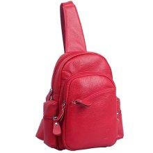 Korean Tide Mini Bag  Sports Single Shoulder Bag,Oxblood Red