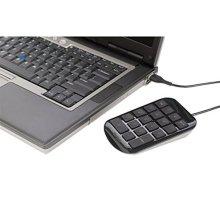 Targus USB Numeric Keypad / Number Pad for PC & MAC- Black - Peripheral