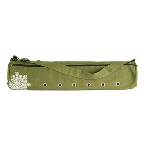 Large Pouch Yoga Canvas Mat Tote Bag Holder:  Lightweight, Durable, Breathable