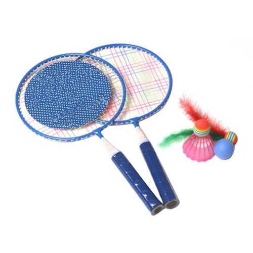 Cute Children Sports Racket Toys Tennis/Badminton Racket-Blue