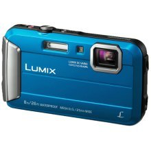 "Panasonic Lumix DMC-FT30 16.1MP 1/2.33"" CCD 4608 x 3456pixels Blue"