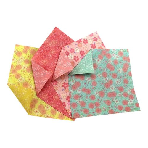 60 Pieces Craft Folding Origami Papers - 15x15 cm