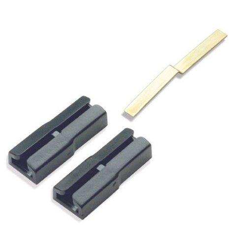 6x Dual rail track joiners for G-45 gauge code 250 to larger - Peco SL-912 - F1