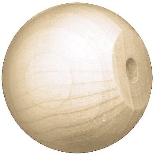 "Wood Turning Shapes Value Pack-Knob/Doll Head 1"" 11/Pkg"