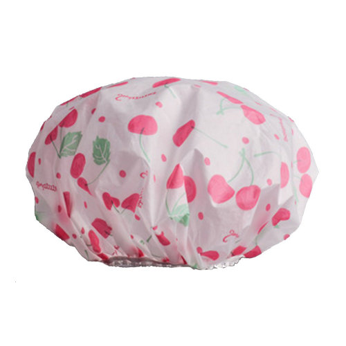 2PCS Shower Cap,Bath Cap-Elastic Band,Extra Large,Won't Fall Off Your Head Designed for Women#H