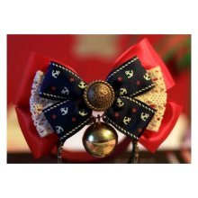 Pet Accessories Bow - Cats and Dogs Tie Bells-4