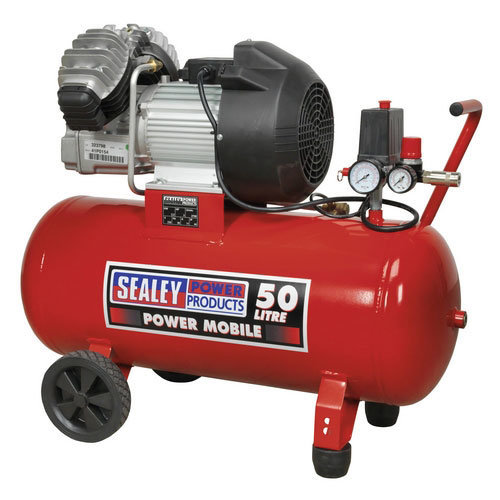 Sealey SAC05030 50ltr V-Twin Direct Drive Compressor 3hp