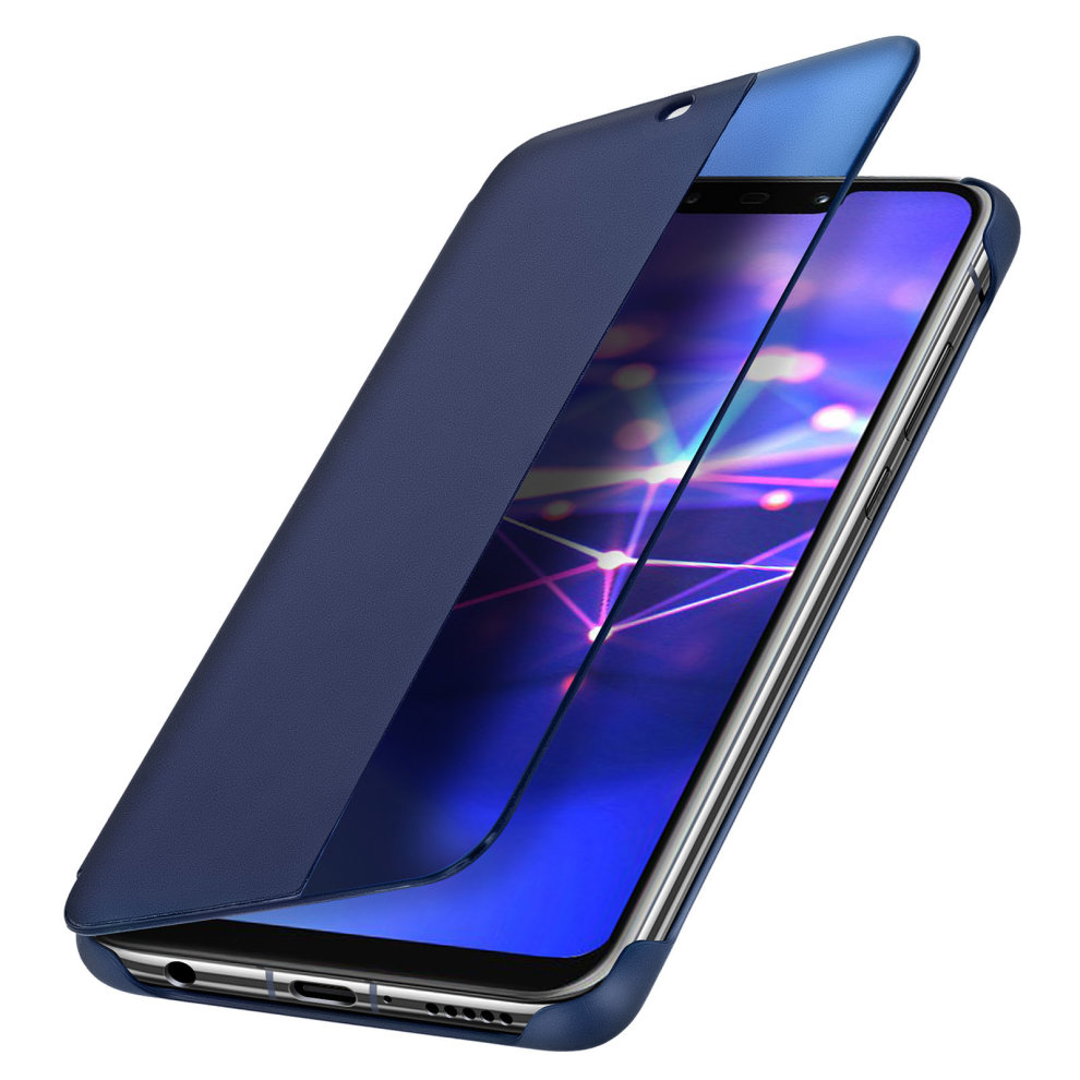 various colors 53c69 e0773 Official Huawei Smart View flip case for Huawei Mate 20 Lite - Dark blue