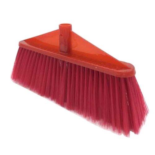 Stiff Broom Head Plastic Broom Head Replacement, Only Broom Head [A]
