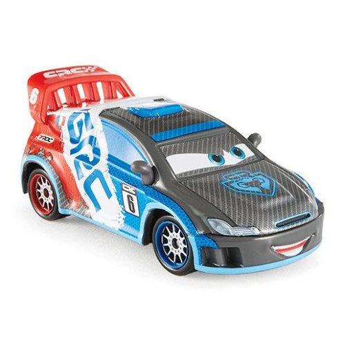 Disney Pixar Cars Carbon Fibre Diecast Vehicle Raoul Caroule