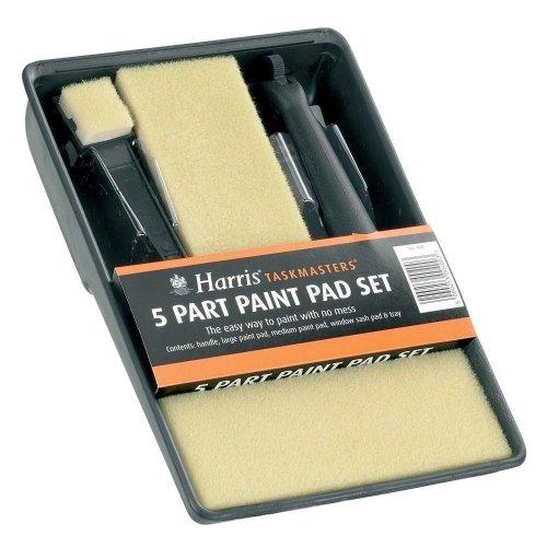 Harris Taskmasters 5 Part Paint Pad Set