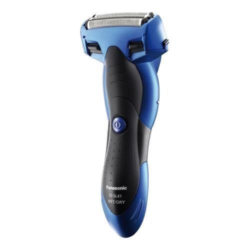 Panasonic 3-Blade Electric Shaver Wet/Dry with Pop-up Trimmer for Men, Blue (ESSL41A)