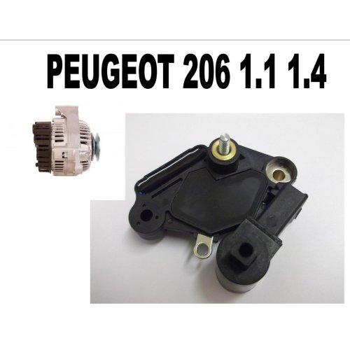 PEUGEOT 206 1.1 1.4 1998 1999 - 2015 NEW ALTERNATOR REGULATOR
