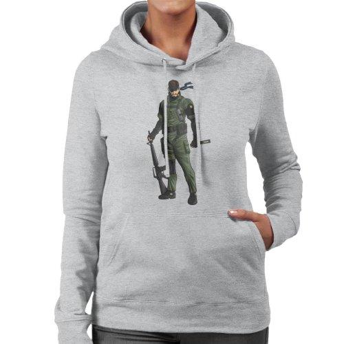 914b3b10 Metal Gear Solid Peace Walker Big Boss Women's Hooded Sweatshirt on OnBuy