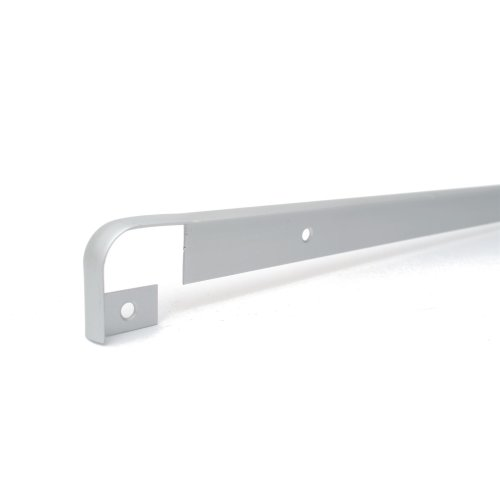 KITCHEN WORKTOP EDGING TRIM STRIP ALUMINIUM STRAIGHT RUN 30MM