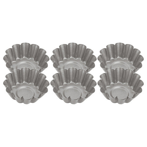 Judge 6cm Fluted Mini Tart Tins - Set of 6