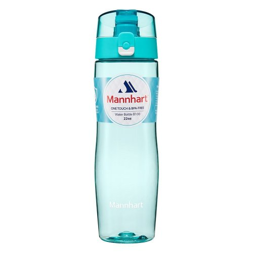 Mannhart 650ml Water Bottle [BPA-free Water Bottles, No Harmful Chemicals, Dishwasher Safe Drinks Bottle] Water Bottle Kids, Sports Bottle, Water...