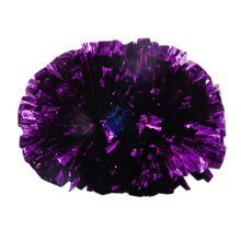 2 Pieces Parties Cheerleading Pom/Creative School Spirit Pom, Deep Purple