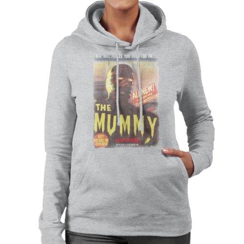 Hammer The Mummy 1959 Film Poster Women's Hooded Sweatshirt