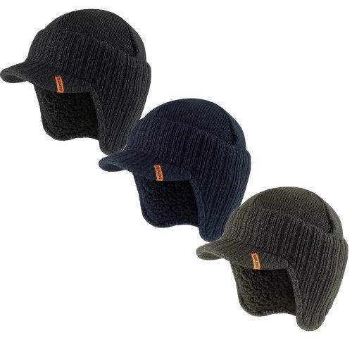 Scruffs Peaked Beanie Hat Insulated Workwear
