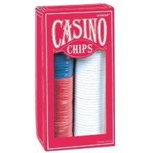 Amscan Casino Poker Chips Party Prop Decoration (150 Piece), Multi Color, 6.5 x 3.3