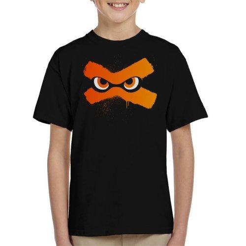 Splat Eyes Splatoon Kid's T-Shirt