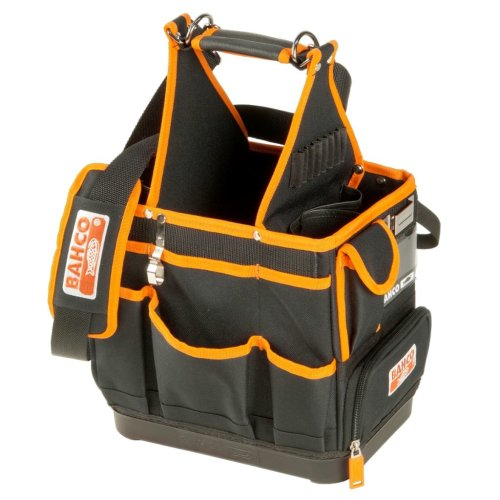BAHCO Electrician Tool Bag Tote Organiser Storage Carry Case Holdall 4750FB3-12