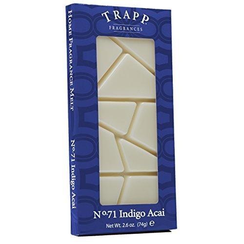 Tra Home Fragrance Melt No 71 Indigo Acai 2 6 Ounce by Tra