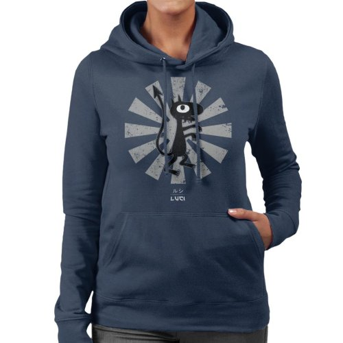 Luci Retro Japanese Disenchantment Women's Hooded Sweatshirt