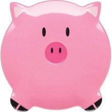 20cm Let's Make Parker Pig Shaped Melamine Plate