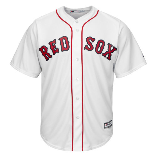 Boston Red Sox MLB White Home Cool Base Jersey