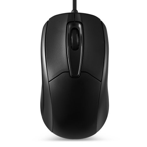 250f5c9b0c7 Perixx PERIMICE-209 3 Button USB Wired Mouse - Optical - 1000 DPI - 1.8m  Cable - Black on OnBuy