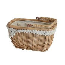 Pastoral Style Creative Rattan Weaving Small Flower Baskets Small Hanging Basket