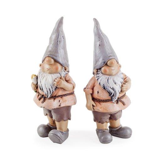 Rowan & Brody the Garden Loving Gnome Ornament Set