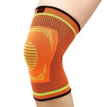 Professional Sports Kneepad Running Anti-wear Breathable Knee Brace, Orange