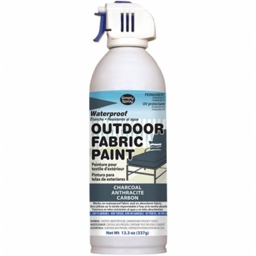 OF0046-4M Outdoor Spray Fabric Paint - 13.3 oz., Charcoal