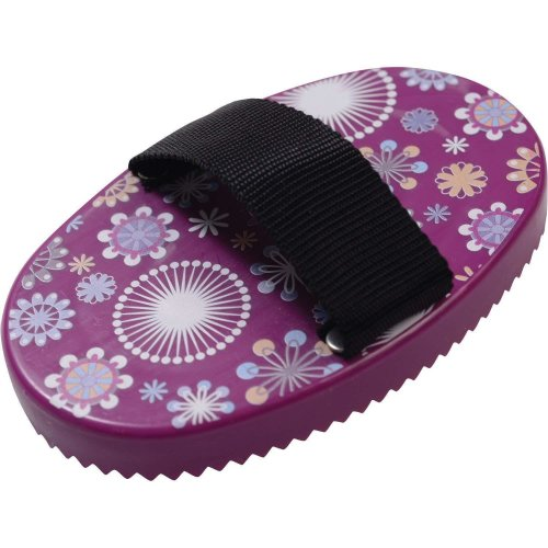 Roma Patterned Curry Comb