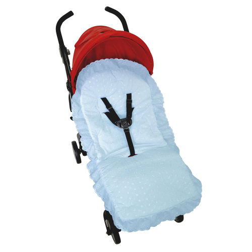 Broderie Anglaise Pushchair Compatible with Babystyle Blue