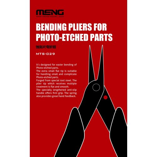 MNGMTS-029 - Meng Model - Bending Pliers for Photo-Etched Parts