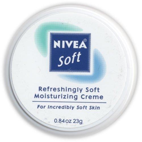 Nivea Soft, Refreshingly Soft Moisturizing Creme, .84 Oz. (Pack of 6)