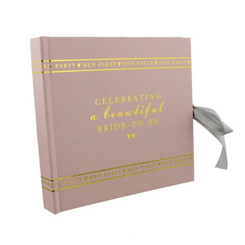 Amore Paperwrap Photo Album Hen Party Bride-To-Be