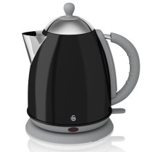 Swan Jug Kettle 1.7 L capacity - Black Cordless design (Model No. SK261050BN)