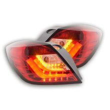 Led Rear lights Opel Astra H GTC Year 04-08 red/clear