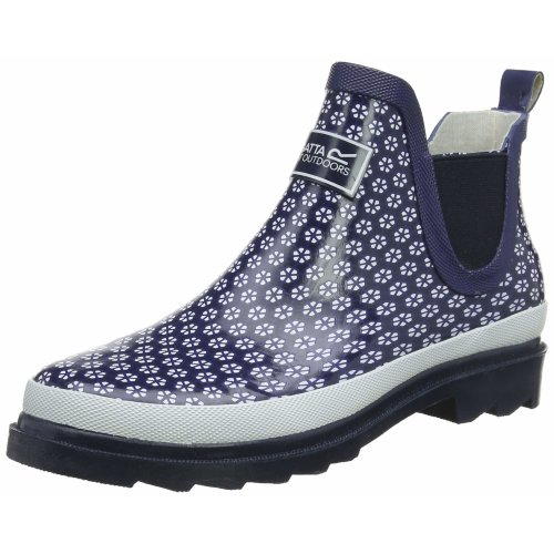 Regatta Women's Lady Harper Welly Wellington Boots, Blue (Navy/White 6h7), 6 UK (39 EU)