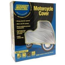 Medium Water & Uv Resistant Motorcycle Cover - Maypole Polyester 500cc Uvwater -  maypole medium motorcycle cover polyester 500cc uvwaterresistant
