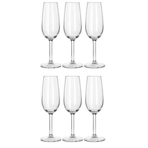6pk Royal Leerdam Champagne Flute Set - 220ml | 6 Champagne Flutes