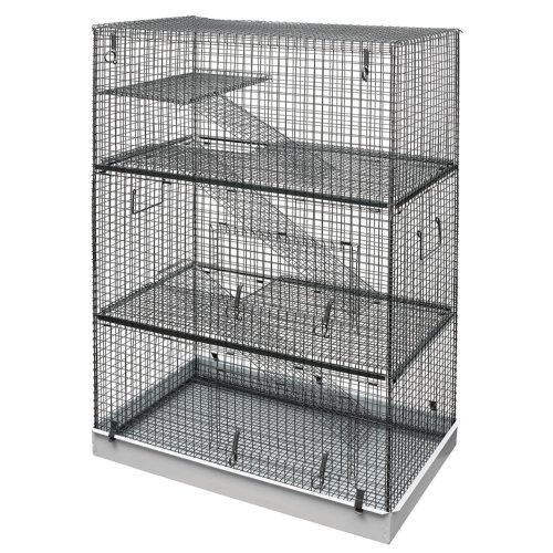 Chinchilla, 3 Tier, Rat, Rodent Cage, Lazy Bones