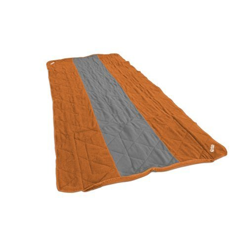 Eno Eagles Nest Outfitters Launchpad Single Blanket Orange Grey