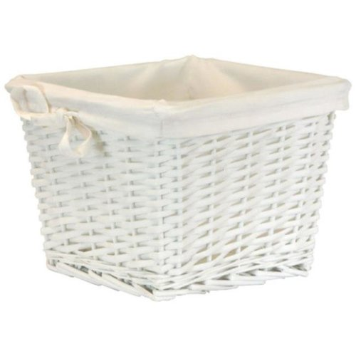 Redmon 2154WH Small Willow Basket Liner - White
