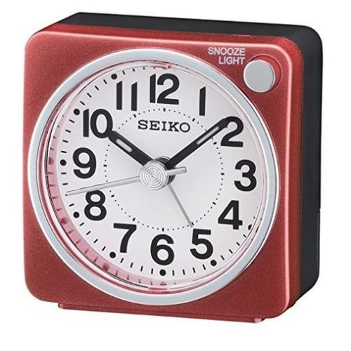 Seiko Unisex Clocks Analog (QHE118R)